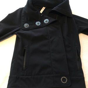 LULULEMON ~ *RARE* Fleece lined waterproof coat